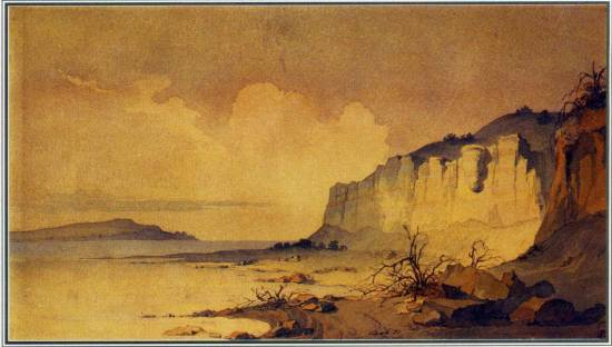Крутий берег аральського моря 1848 1849