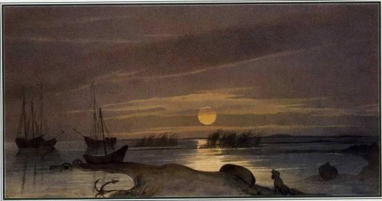 Місячна ніч на Косаралі. 1848-1849