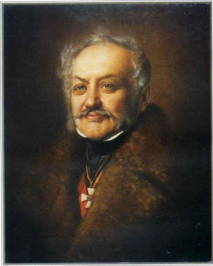 Портрет Миколи Рєпніна. Копія з Йозефа Горнунга